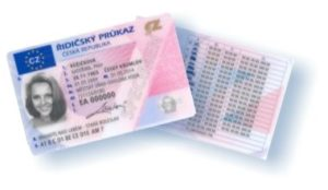 Czech Driver's Licence Translation