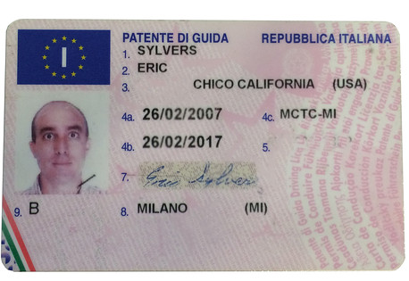 Italian Driver's Licence Translation